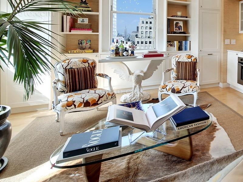 79平米小户型简欧小清新书房装修效果图大全2014图片