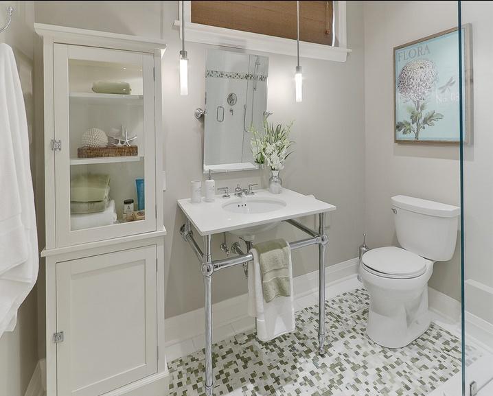 30万打造简约卫生间装修风格设计效果图