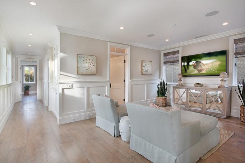 20万打造白色清新欧式客厅电视背景墙装修效果图大全2014大全