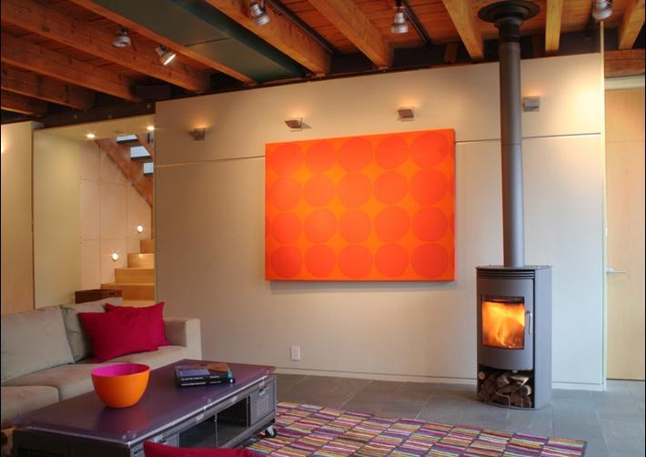 10万打造原木元素田园客厅背景墙装修效果图大全2014图片