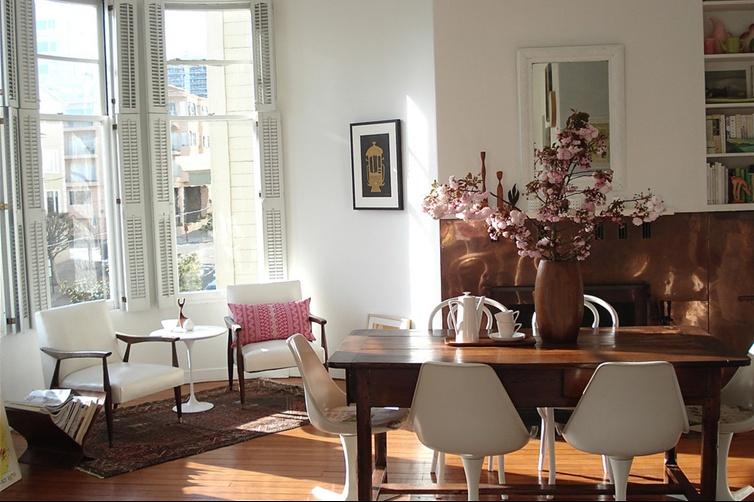 精选面积79平小户型客厅混搭装修实景图片欣赏