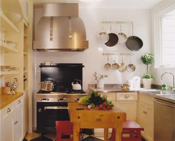 20万元打造大自然气息北欧厨房橱柜装修效果图大全2014图片