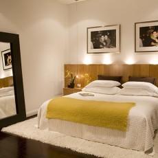 136平米混搭复式卧室装修图片欣赏