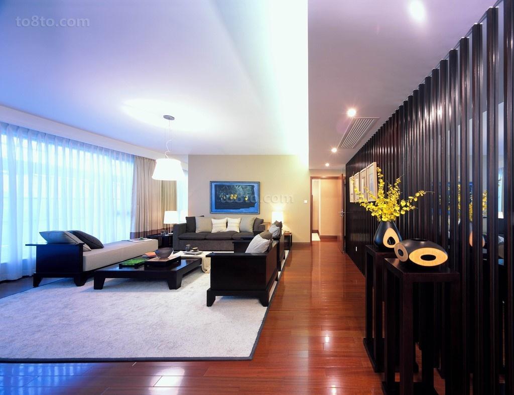 现代家居客厅装修效果图大全2013图片
