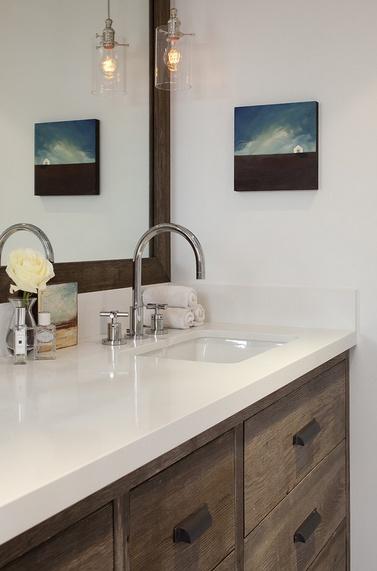 三室两厅简欧风格家庭卫生间装修效果图大全2014