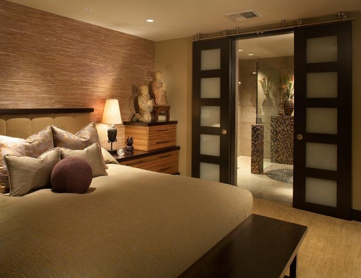 120平米两室两厅美式风格卧室装修效果图