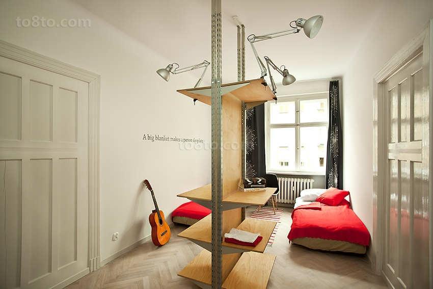 白色简欧小户型卧室装修效果图大全2014图片