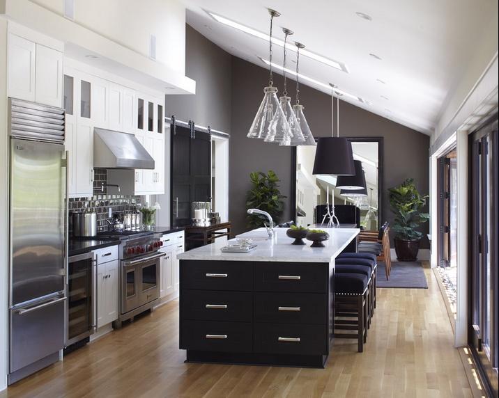 素雅宜人的小户型厨房装修效果图大全2014图片
