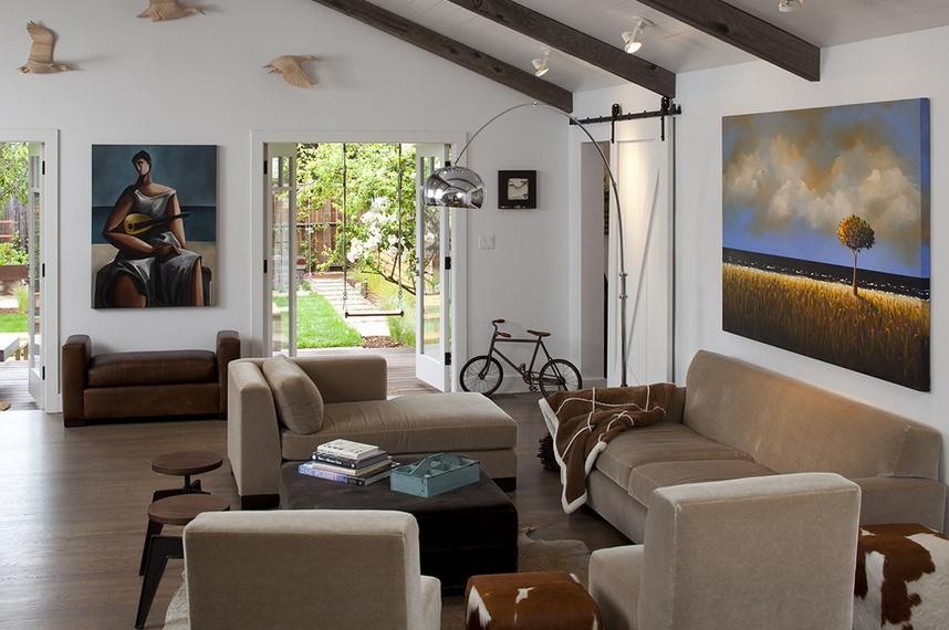 三室两厅简欧风格客厅装修效果图大全2014图片