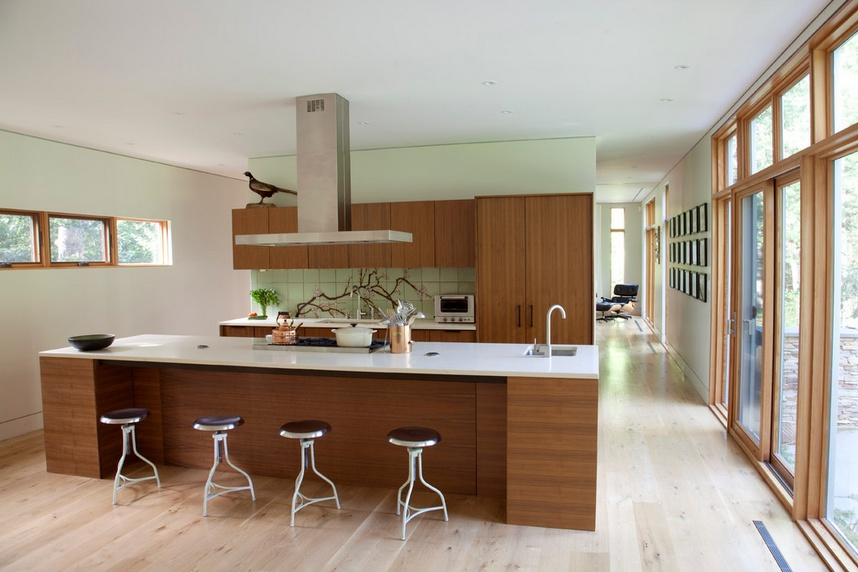 三居室厨房橱柜装修效果图大全2014图片