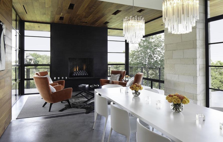 130㎡三室两厅原生态客厅装修效果图大全2014图片