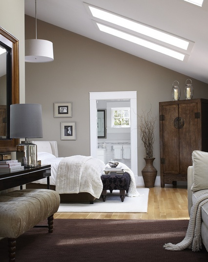 素雅宜人的小户型卧室阁楼装修效果图大全2014图片
