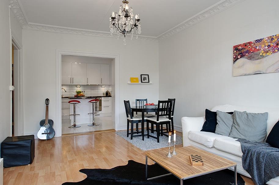 精选小户型客厅混搭装修设计效果图片