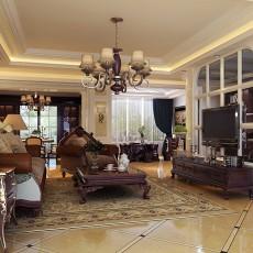 精选107平方三居客厅欧式装修设计效果图