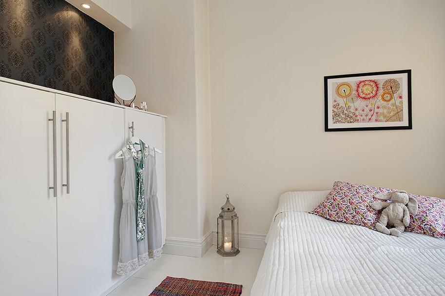 精美面积89平小户型卧室混搭装修实景图片欣赏