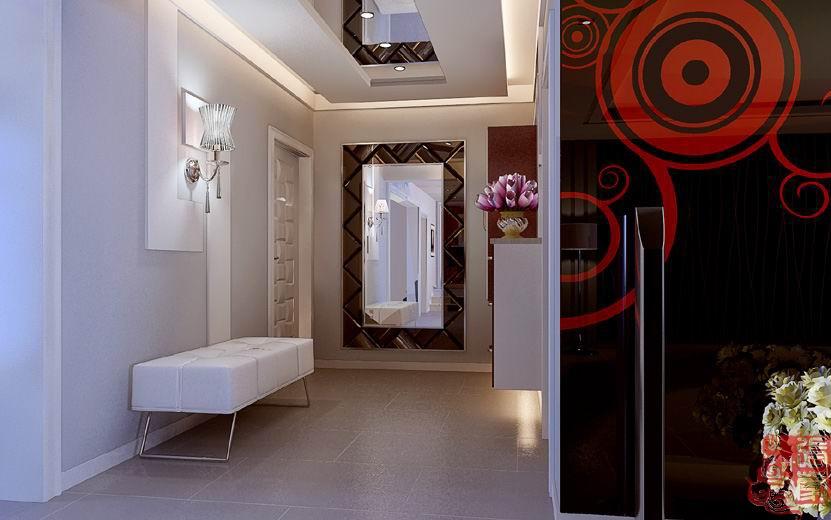 唯美浪漫的现代风格卫生间装修效果图大全2014图片