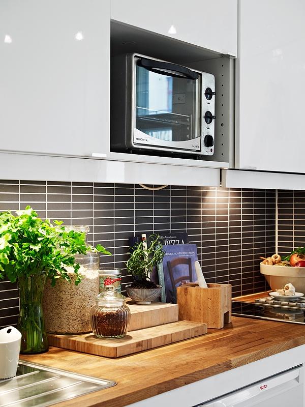 75平米混搭小户型厨房装修设计效果图片欣赏