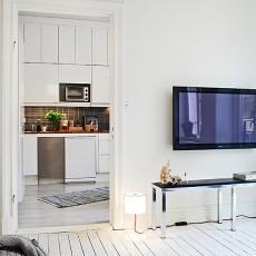 热门74平米混搭小户型厨房效果图片大全