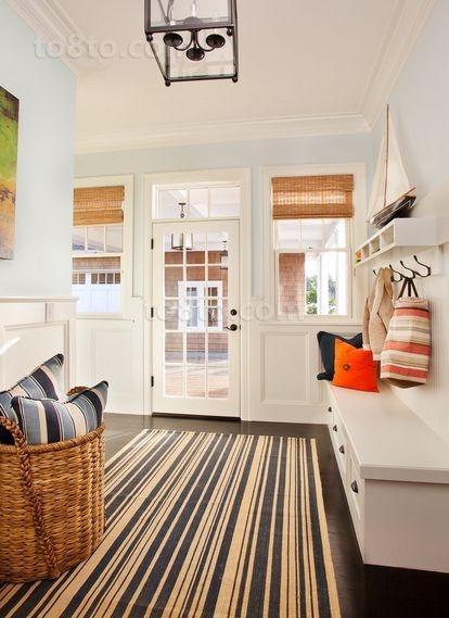 18万打造华丽美式风格客厅装修效果图大全2014图片