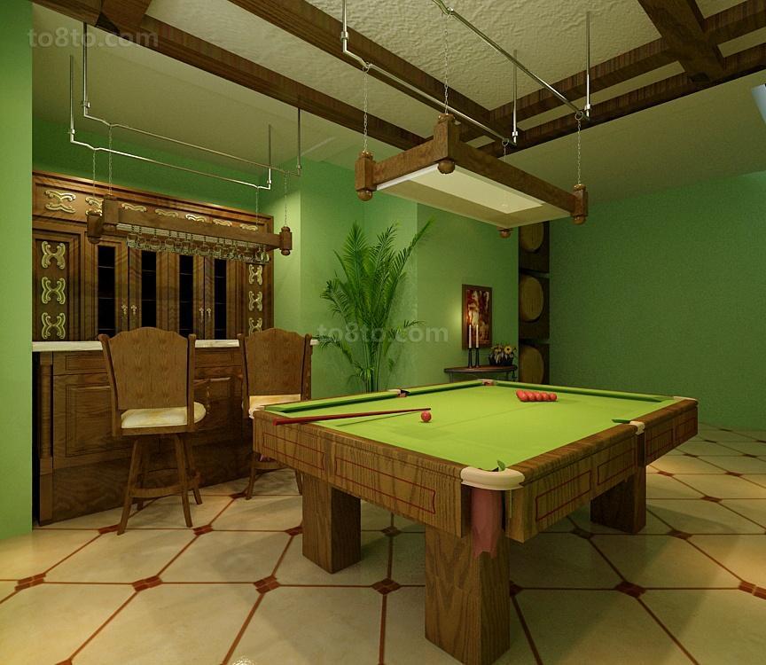 小户型时尚美式乡村客厅装修效果图大全2014图片