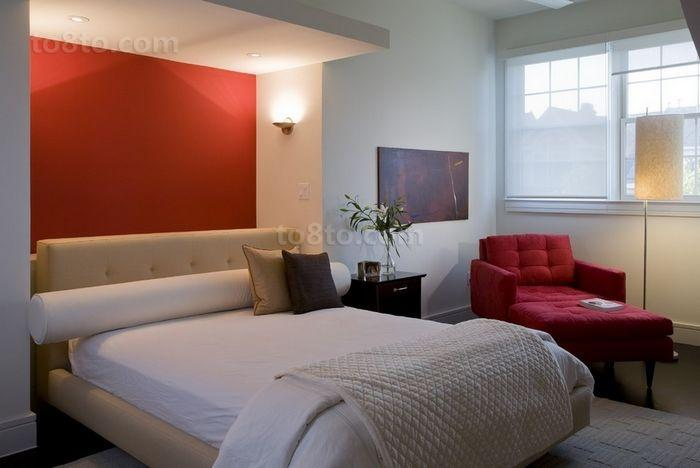 80㎡小户型婚房装修 现代风格卧室效果图欣赏