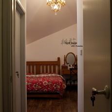 热门面积121平复式卧室田园装修图片大全