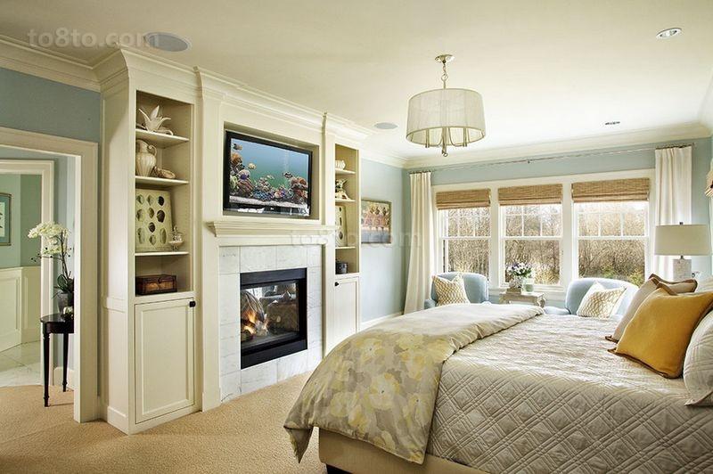 18万打造华丽美式风格卧室装修效果图大全201图片
