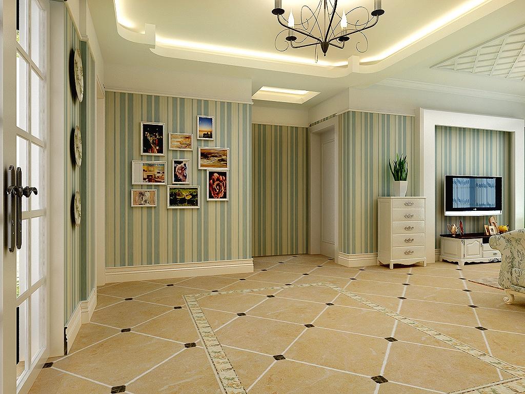 精美99平米3室混搭装修设计效果图片大全