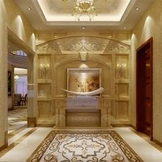 热门127平米混搭别墅玄关装修设计效果图片欣赏