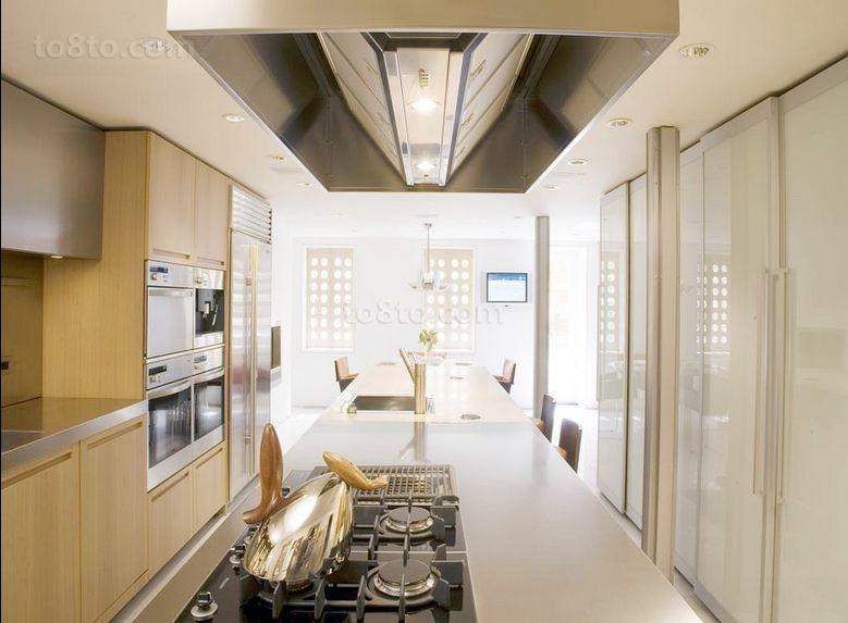 16万打造三居美式风格厨房橱柜装修效果图大全2014图片