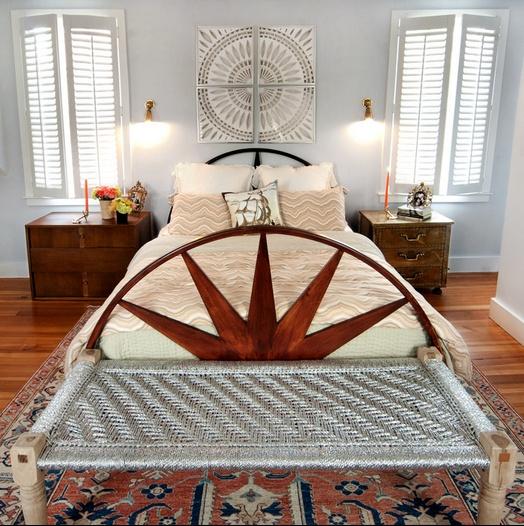 美式风格打造65平米蜗居卧室装修效果图