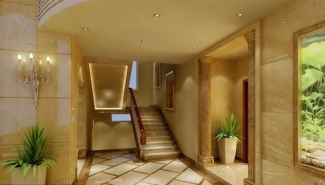 最热142平方混搭别墅客厅设计效果图