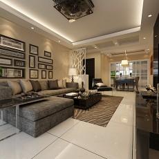 热门大小97平现代三居客厅装修设计效果图片