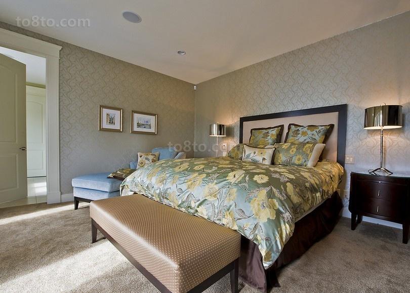 三室两厅欧式风格卧室装修效果图大全2014图片