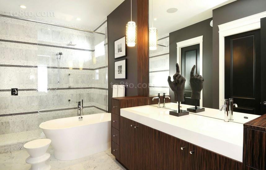 三居室卫生间装修效果图