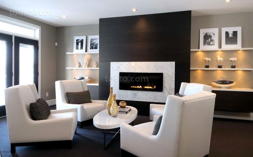 三居室客厅装修效果图