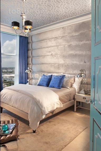 两房一厅欧式风格卧室装修效果图大全2012图片