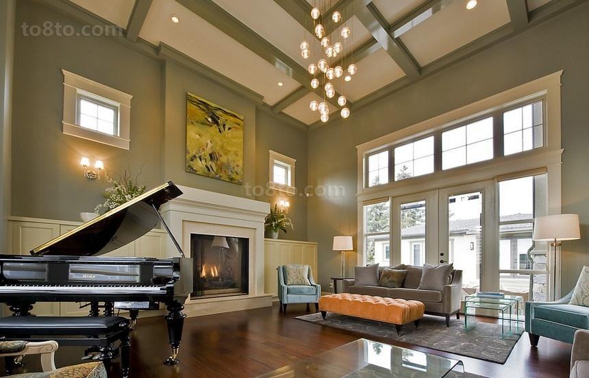 欧式浪漫的三居室客厅装修效果图