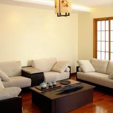 精美面积110平别墅客厅中式装饰图片大全