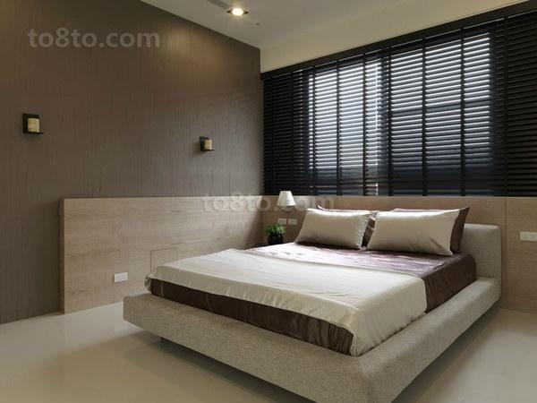 80平小户型卧室装修效果图大全2014图片