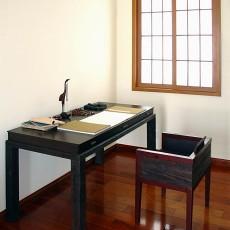 中式风格名古屋别墅书房样板设计