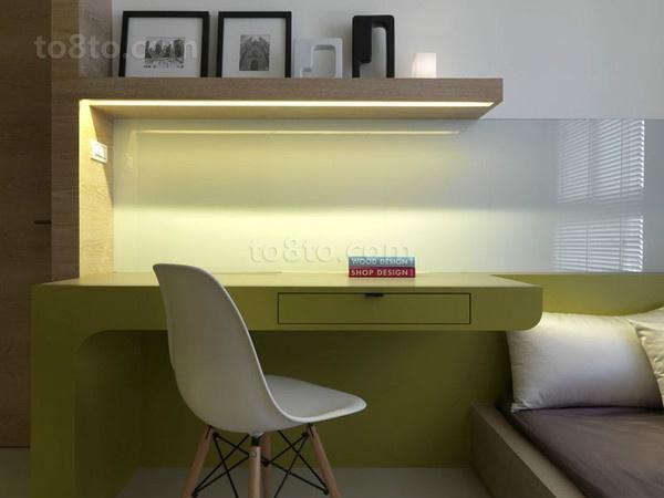 80平小户型书房装修效果图大全2014图片