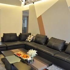 热门90平米三居客厅现代装饰图