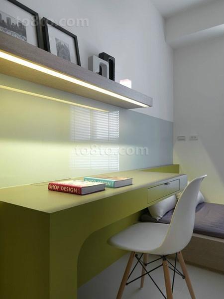 小户型简约的书房装修效果图大全2014图片