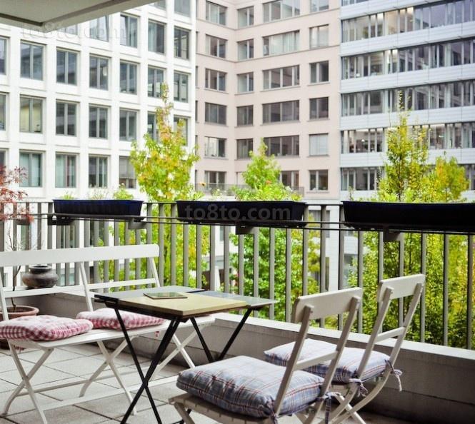 2012最新开放式 阳台装修效果图欣赏