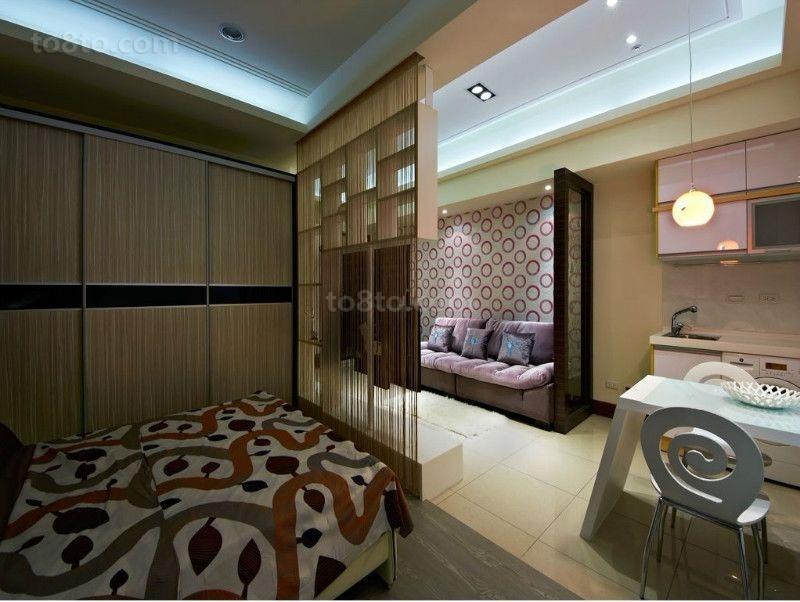 20万打造现代风格卧室装修效果图大全2014图片