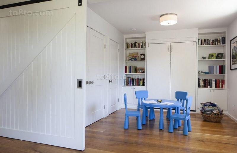 105平米二居室简约风格书房装修效果图大全2014图片