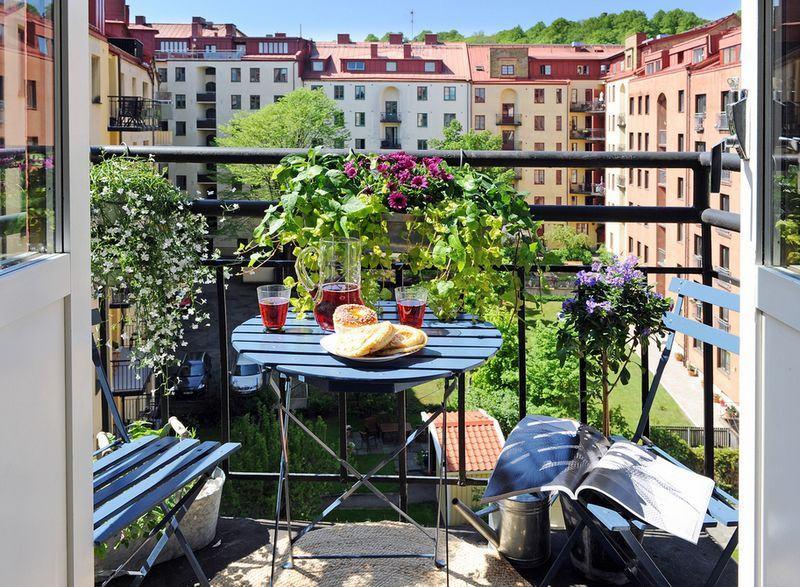 开放式阳台装修效果图大全2012图片欣赏