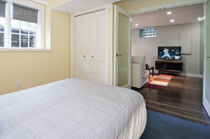 89㎡小户型现代时尚的卧室装修效果图大全2014图片