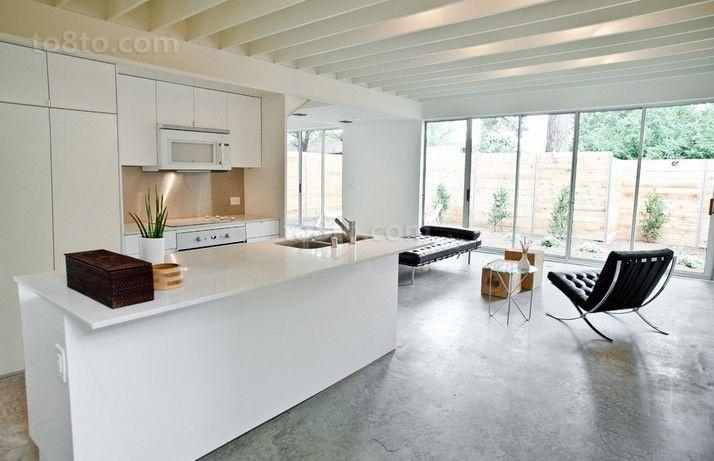 70万欧洲后现代装修风格厨房图片